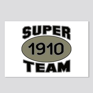 Super Team 1910 Postcards (Package of 8)