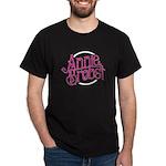Ab Logo (pink Print, White Circle) T-Shirt