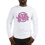 AB logo (pink print, black circle) Long Sleeve T-S