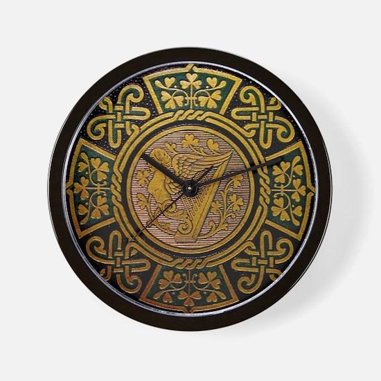 Cute Irish knotwork Wall Clock