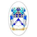 Tomic Sticker (Oval)
