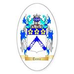 Tomic Sticker (Oval 50 pk)