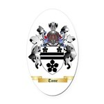 Tome Oval Car Magnet