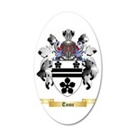 Tome 35x21 Oval Wall Decal