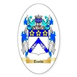 Tombs Sticker (Oval)