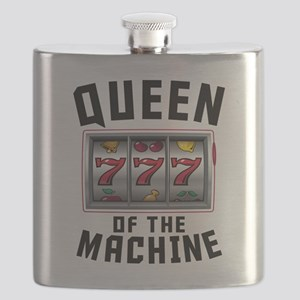 Queen Of The Machine Flask