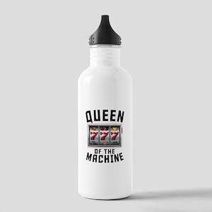 Queen Of The Machine Water Bottle