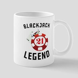 Blackjack Legend Mugs