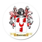 Tombrinck Round Car Magnet
