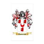 Tombrinck Sticker (Rectangle 50 pk)