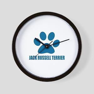 Jack Russell Terrier Dog Designs Wall Clock