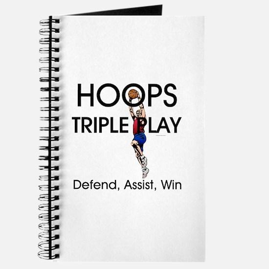 TOP Hoops Triple Play Journal