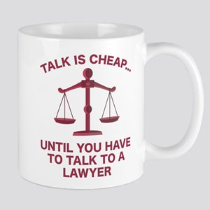 Talk Is Cheap Mug