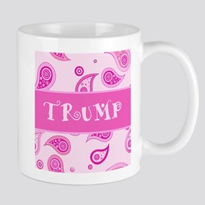 Trump Paisley Pink Mug