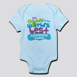 Swimming Coach Gifts for Kids Infant Bodysuit