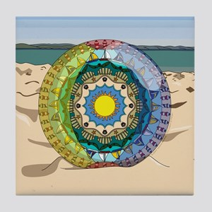 Summer Sunshine Tile Coaster