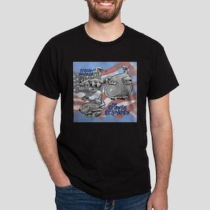 Travis AFB Triplets Dark T-Shirt