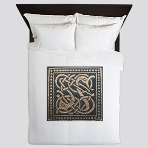 Celtic Sea Serpents Queen Duvet