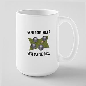 Grab Your Balls Bocce Mugs