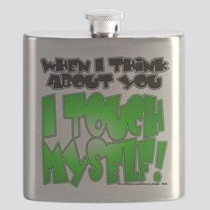 NEW! I Touch Myself Flask