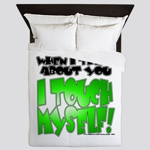 NEW! I Touch Myself Queen Duvet