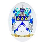 Tomasini Oval Ornament