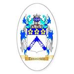 Tomasiewicz Sticker (Oval 10 pk)