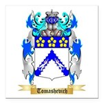 Tomashevich Square Car Magnet 3