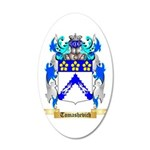 Tomashevich 20x12 Oval Wall Decal