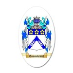 Tomashevich 35x21 Oval Wall Decal