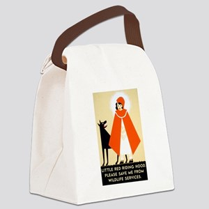 Little Red Riding Hood, Please Sa Canvas Lunch Bag