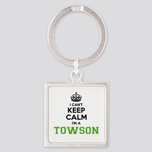 TOWSON I cant keeep calm Keychains