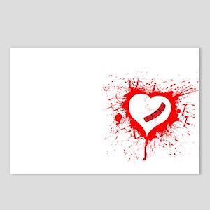 Broken Hearted Postcards (Package of 8)