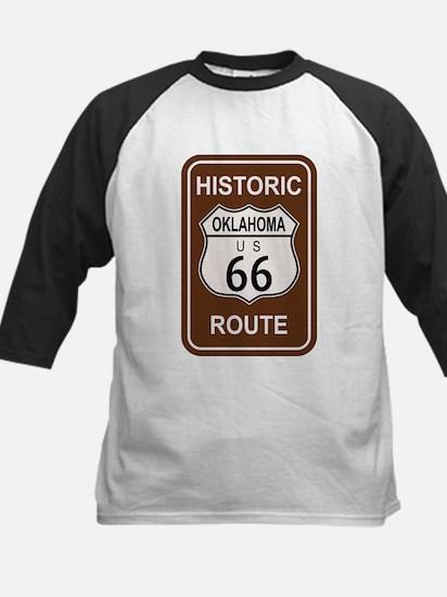 Oklahoma Historic Route 66 Baseball Jersey