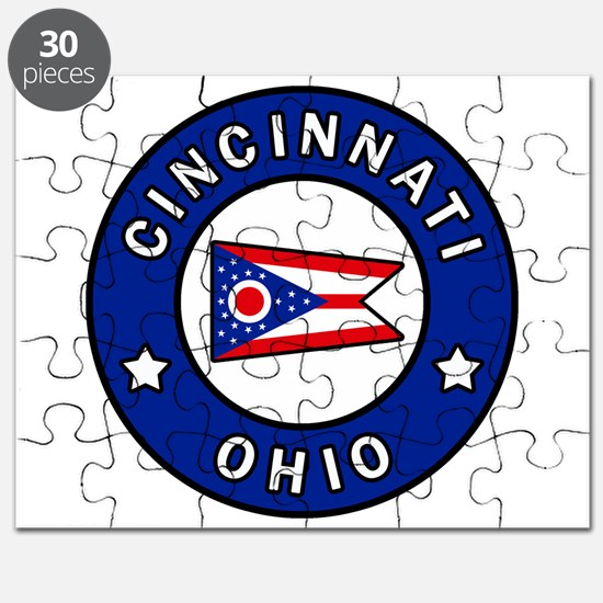 Cincinnati Ohio Puzzle