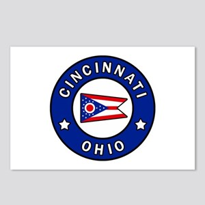 Cincinnati Ohio Postcards (Package of 8)