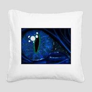 dragon eye Square Canvas Pillow
