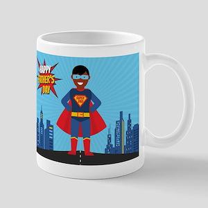 black super dad Mugs