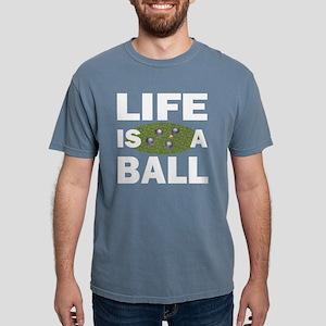Life Is A Ball Bocce Women's Dark T-Shirt