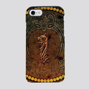 Awesome tiger, tribal design iPhone 8/7 Tough Case