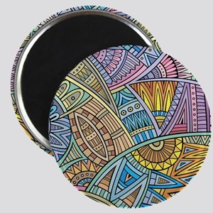 Colorful Abstract Magnets