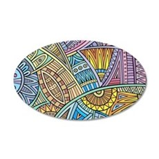Colorful Abstract Wall Decal