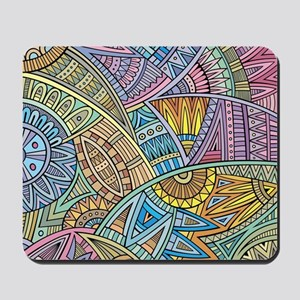 Colorful Abstract Mousepad