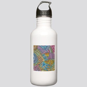 Colorful Abstract Water Bottle