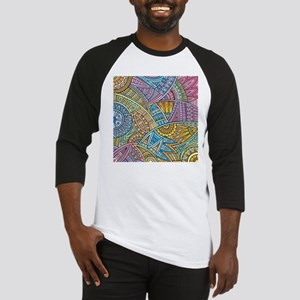 Colorful Abstract Baseball Jersey