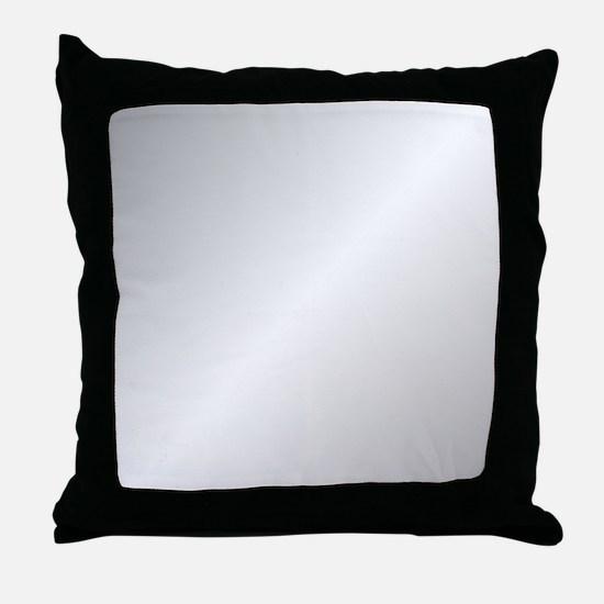 Silver Shine Throw Pillow