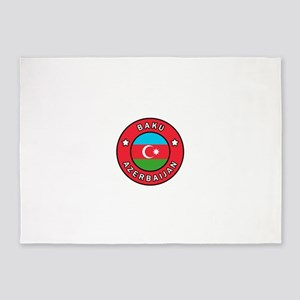 Baku Azerbaijan 5'x7'Area Rug