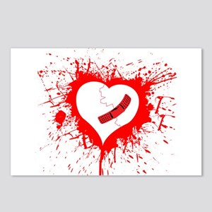 Broken Hearted again Postcards (Package of 8)