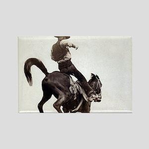 Vintage Rodeo Cowboy Magnets