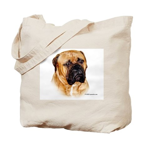 Baby the Bullmastiff Tote Bag